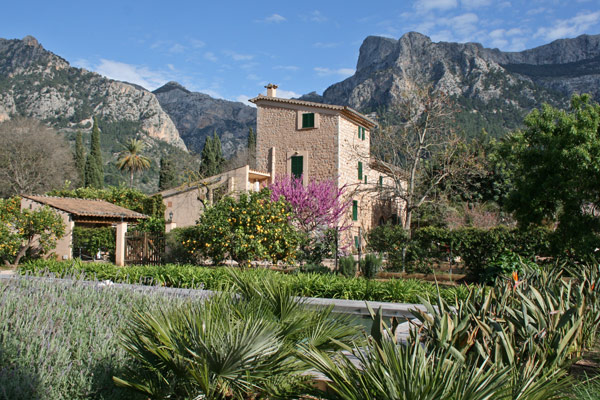 Die Finca Can Busquera in Sóller.