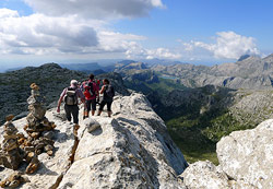 The valley of Sóller is a hikers paradise