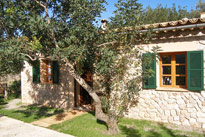 Casita Puput - example for a romantic home on Mallorca.